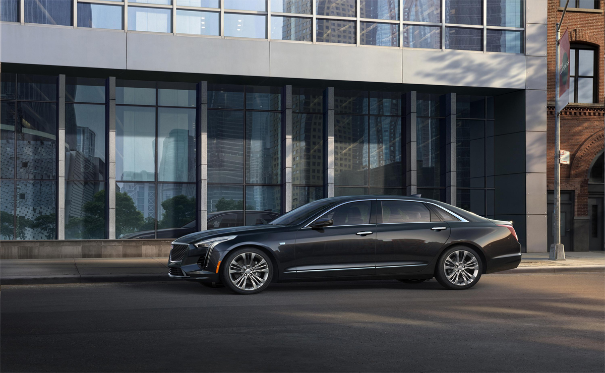 2019 Ct6 Debuts Cadillac Exclusive Twin Turbo 4 2 Liter V 8