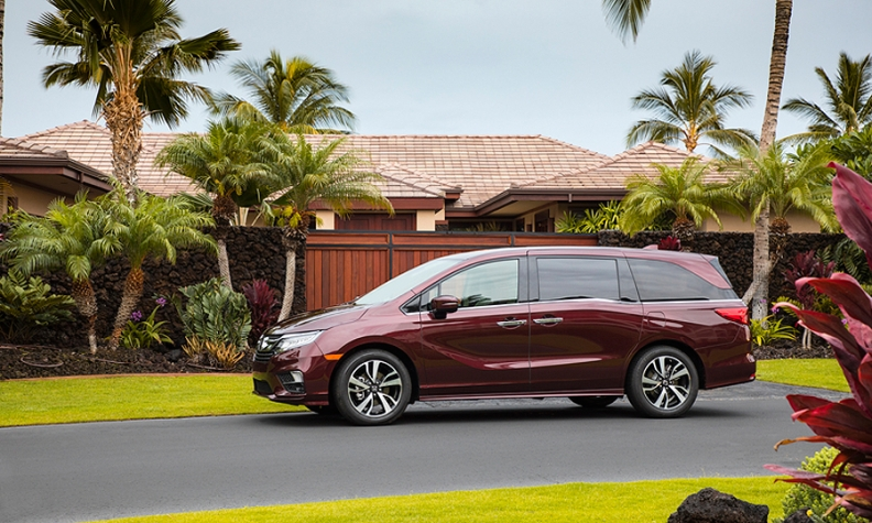 Honda Recalls Odysseys For Possible Door Malfunction